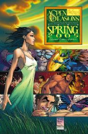 Aspen Seasons Spring 2005 Michael Turner Variant comic book